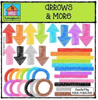 Arrows and More SCD  {P4 Clips Trioriginals Digital Clip Art}