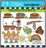 Sequence Pictures #1 {P4 Clips Trioriginals Digital Clip Art}