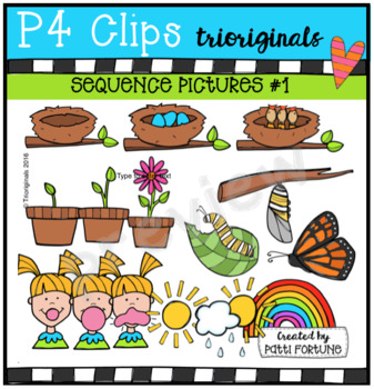 Sequence Pictures #1 {P4 Clips Trioriginals Digital Clip Art}