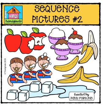 Sequence Pictures #2 {P4 Clips Trioriginals Digital Clip Art}