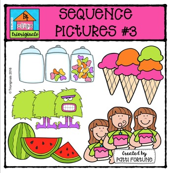 Sequence Pictures #3 {P4 Clips Trioriginals Digital Clip Art}