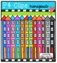 Tall Town  {P4 Clips Trioriginals Digital Clip Art}