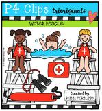 Water Rescue & Safety {P4 Clips Trioriginals Digital Clip Art}