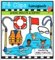 Water Rescue & Safety {P4 Clips Trioriginals Digital Clip Art}