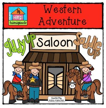 Western Adventure {P4 Clips Trioriginals Digital Clip Art}