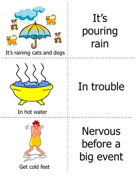 Idioms Activities, Games, Task cards, and Bingo