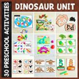 Dinosaur Preschool/ Kindergarten Unit - Math and Literacy Centers