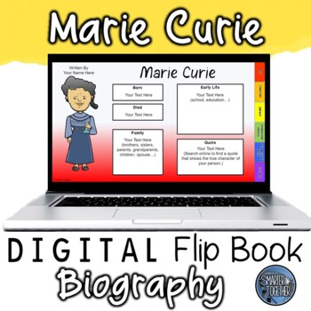 Marie Curie Digital Biography Template