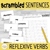 Reflexive Verbs and Daily Routine in Spanish Scrambled Sen
