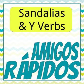 """Amigos Rápidos : """"Las Sandalias"""""""