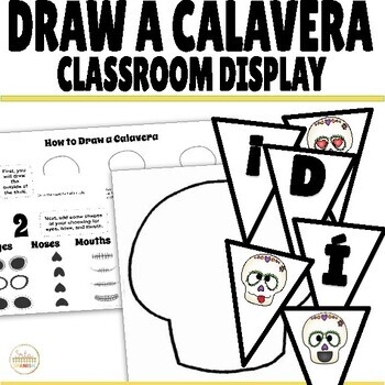 Día de los Muertos How to Draw a Calavera Activity