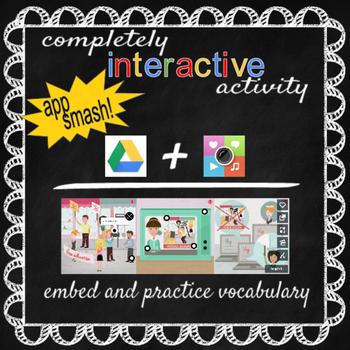 Vocabulary Online Interactive Activity