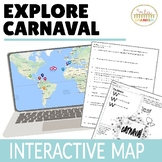 Carnaval Spanish Mardi Gras Digital Activities