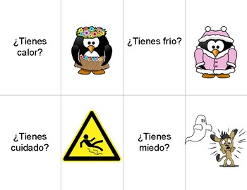 Tener Expressions ¡Pesca! Review Game
