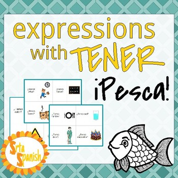 ¡Pesca! Review Game with Tener Expressions