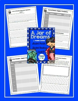 A Jar of Dreams by Yoshiko Uchida, Student Packet, Guided Reading Level R