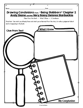 Andy Shane and the Very Bossy Dolores Starbuckle, Guided Reading Lesson Plan, K