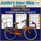 Justin's New Bike, Barbara Hill, Guided Reading Plan, Level G
