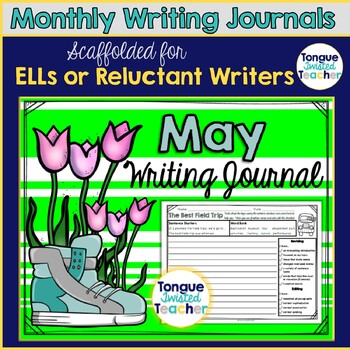May Monthly Writing Journal