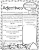 100 First Grade Camping Theme No Prep Language, Reading, Writing, & Math Work