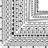 Page Borders and Frames (100 Borders, Non-seasonal)