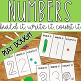 Hands on Play Dough Counting Activity | Numbers 1-20