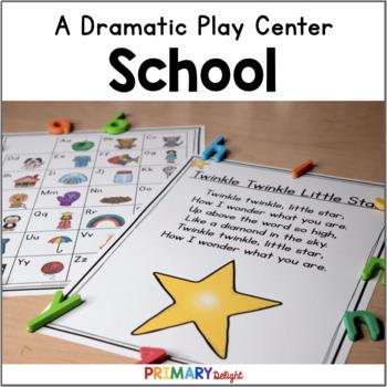 Pretend School Dramatic Play Center