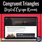 Congruent Triangles Digital Escape Room