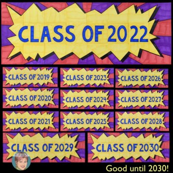 Class of ... (2019 - 2030) Collaboration Poster - Great End of the Year Activity