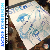 Jackie Robinson Collaboration Poster - Great Black History Month Activity
