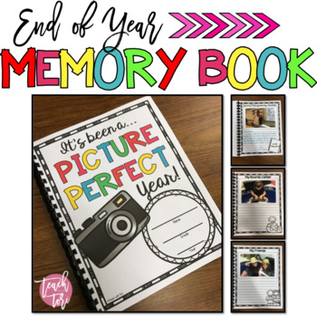 Back to School Year Long Memory Book