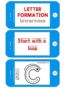 Letter Formation {Lowercase}