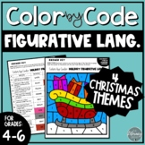 Christmas Figurative Language Color by Number