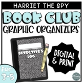 Harriet the Spy Book Companion Graphic Organizers