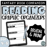 Reading Graphic Organizers for Fantasy Book Club