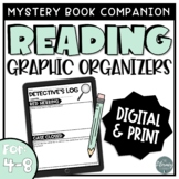 Reading Graphic Organizers for Mystery Book Club