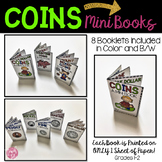 Money Mini Books for Counting Coins