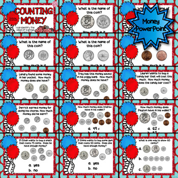 MONEY Task Cards and PowerPoint