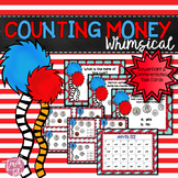 Dr. Seuss Inspired MONEY Task Cards and PowerPoint