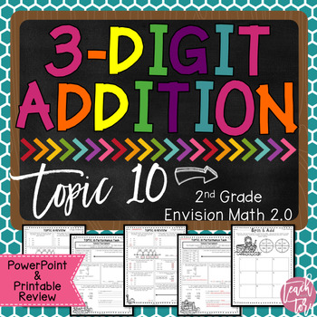 Envision Math 2.0 2nd Grade TOPIC 10 Review
