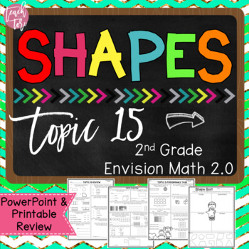 Envision Math 2.0 Topic 15 Review Shapes