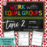 Envision Math 2.0 Topic 2 Work with Equal Groups