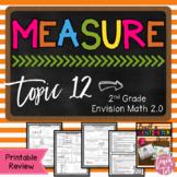 Topic 12 Review Envision Math 2.0 Measurement
