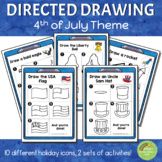 Directed Drawing - 4th of July Theme
