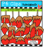 2D FUN Candy Apple Shapes