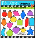 2D FUN Christmas Lights Shapes (P4 Clips Trioriginals)