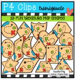 2D FUN Treasure Maps (P4 Clips Trioriginals Clip Art)