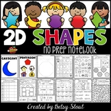 2D Shapes No Prep Notebook
