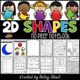 2D Shapes No Prep Notebook