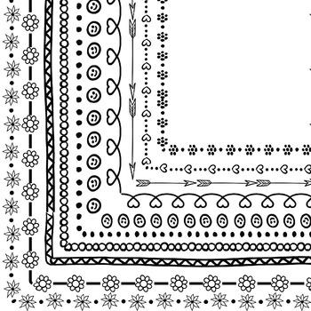 Borders Clip Art Set 4